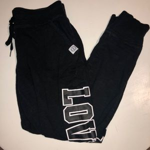 PINK Victoria's Secret jogger sweatpants small